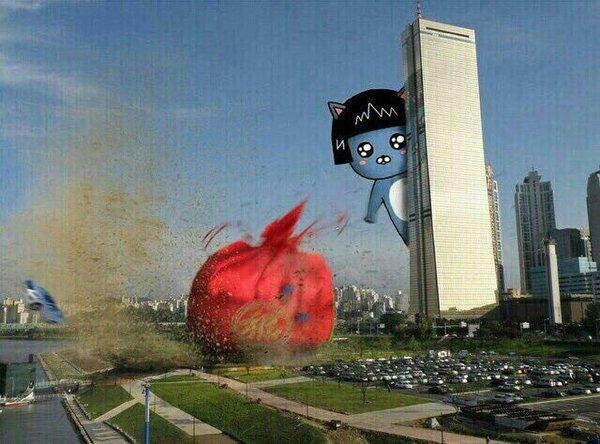 새해인사 복주머니 복 63빌딩 카카오 프렌즈 네오 새해 복받으세요 인사